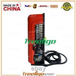 100% Electric A/C Unit fits All trucks DC 12V 6,600-10,000 BTU Red