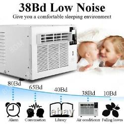 1100W Portable Air Conditioner Cold/Heat 3754BTU Home Cooler Fan WithExhaust Pipe