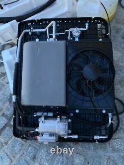 12 volt dc rv van truck car air conditioner