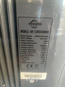 14000BTU Airforce Mobile Air Conditioner Conditioning unit GPCN12A5NK3BA