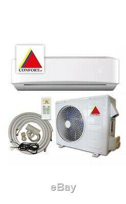 24000 BTU Ductless Air Conditioner, Heat Pump Mini Split 220V 2 Ton With/KIT