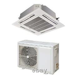 24000 BTU Slim Ceiling Cassette Air Conditioner 7.1kW with Heat Pum eiQ-SSRFC24K