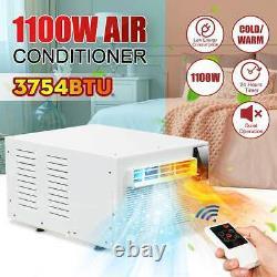 3754BTU Portable Desktop Air Conditioner 1000W COLD/HEAT Dual Use withRemote contr