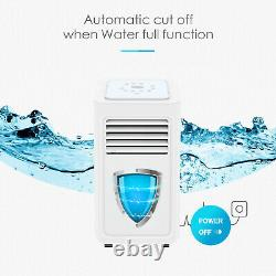 4in1 Eco 7000BTU Air Conditioner Portable Conditioning Unit with Remote Class A