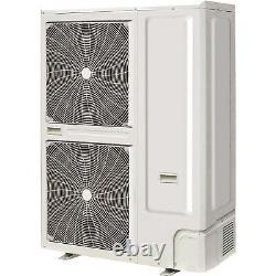 60000 BTU Super Slim Ceiling Cassette Air Conditioner 16kW with Hea eiQ-SSRFC60K
