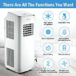 9000BTU Mobile Air Conditioner Portable Cooler Fan Remote Humidifier R290 2600W