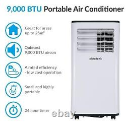 9,000 BTU Quiet Portable Air Conditioner Mobile Air Conditioning Unit & Purifier