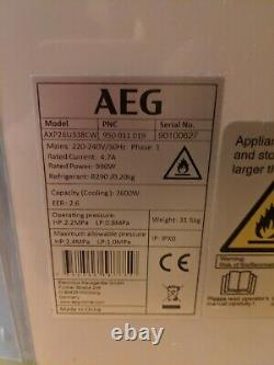 AEG AXP26U338CW 9000 BTU Portable Air Conditioner