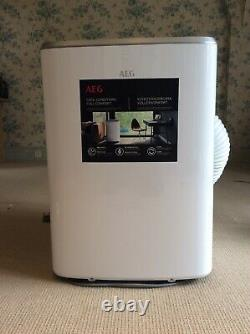AEG AXP34U338CW 12000 BTU Portable Air Conditioner