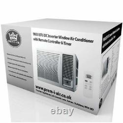 Air Conditioner 9000 BTU Window In-Wall Mount Cooling with Timer Remote
