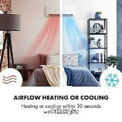 Air Conditioner Portable Split Reversible Heater Fan Silent Powerful 12 000 BTU