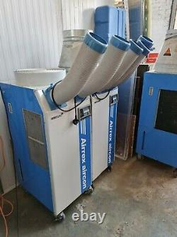 Airrex HSC-3500 Heavy Duty Portable Air Conditioner Unit 25 BTU
