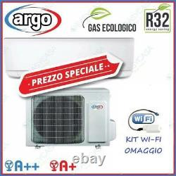 Argo Air Conditioning Wall 12000 Btu Inverter IN Ecolight Wifi Free