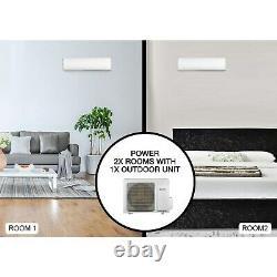 Argo Multi-Split 2x 12000 BTU A++ Wall Air Conditioner System with Single Outdoo