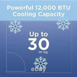 BLACK+DECKER BXAC40007GB Portable 10000 BTU 3-in-1 Air Conditioner, White New