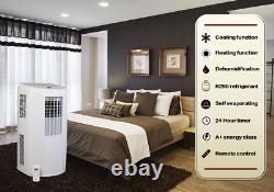 BLU12 12,000 BTU Portable Air Conditioning Unit with Window Kit BLU by Gree