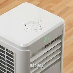 Daewoo 12000 BTU Portable Air Conditioning Unit Home 3-in-1 Fan Dehumidifier