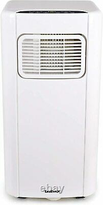 Daewoo 3in1 BTU 5000 Portable Air Conditioning Unit With Remote Control White