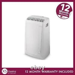 De'Longhi PAC N82 ECO Portable Air Conditioning Unit White A Rated 9400 Btu Home