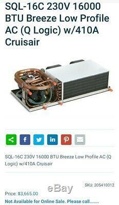 Dometic Cruisair marine air conditioner 16k btu low Profile 220 60hz, gift displ
