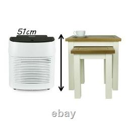 ElectriQ Compact 9000 BTU Small and Powerful Portable Air Conditioner White