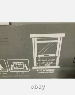 GE 12000 BTU Smart Window Air Conditioner, 550 Sq Ft Room Home WiFi AC 115V Unit
