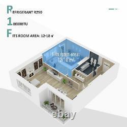 HOMCOM 10000 BTU Portable Air Conditioner 4 Modes LED Display Timer