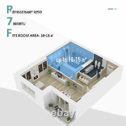 HOMCOM 7000BTU Portable Air Conditioner 4 Modes LED Display Timer Home Office