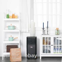HOMCOM 8000 BTU Portable Air Conditioner 4 Modes LED Display Timer Home Office