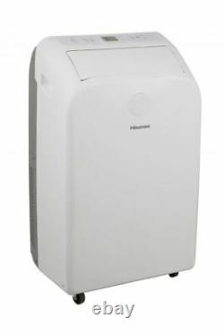 Hisense 7,500 BTU (12,000 BTU ASHRAE) 115-Volt Portable Air Conditioner 400 Sq