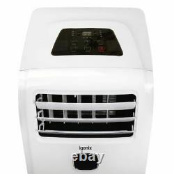 Igenix IG9911 9000BTU Portable Air Conditioner with Cooling, Fan & Dehumidifier
