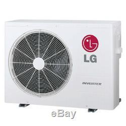 LG LMU24CHV 24k BTU 2-3 Zone Air Conditioner/Heat Pump Outdoor Condenser Unit