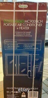 Meaco 9000 BTU Portable Air Conditioning Heating Dehumidifier