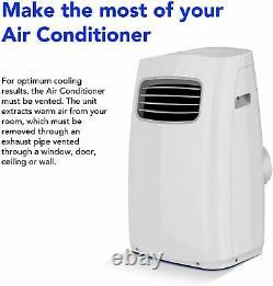 Midea Portable Air Conditioner WiFi Alexa Enabled 9,000 BTU MPPFA-09CRN7