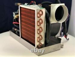 Mini 12v DC air conditioner 5000 BTU With Heat, Control Pump Heat Pump 27amps