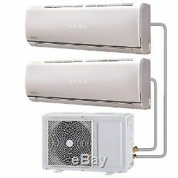 Multi-split 18000 BTU Smart Inverter Air Conditioner with sing eiq-9K9KC18KWMINV