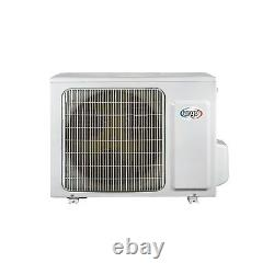 Multi-split WiFi Ready Inverter Wall Air Conditioner System with two 9000 BTU in