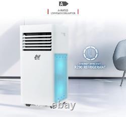 NETTA 10000 BTU Portable Air Conditioner, Dehumidifier, LED Display, WIFI 1114W