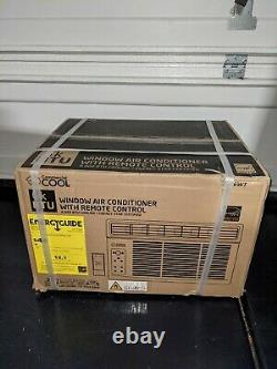 New- Commercial Cool 6000 BTU Window Air Conditioner with Remote Control