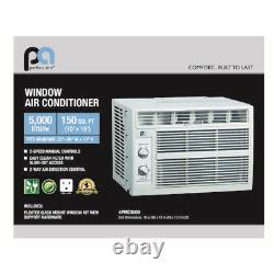 Perfect Aire 5PMC5000 5,000 BTU 100-150 Sq. Ft. 115 Volt Window Air Conditioner