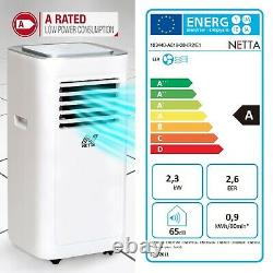 Portable Air Conditioner 8000BTU Air Con Unit for Rooms up to 20sqm Netta 103440