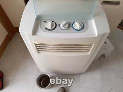 Portable air conditioning air conditioner unit 8000 BTU Used working