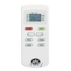 Prem-I-Air 12000 BTU DC Inverter Window Air Conditioner Remote Timer RRA1920
