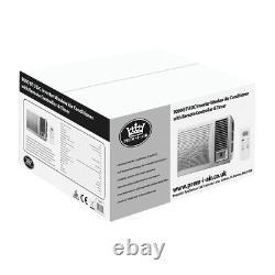 Prem-I-Air 9000 BTU DC Inverter Window Air Conditioner Remote Timer RRA1923