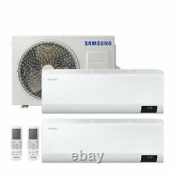 Samsung Climate Dual Split Inverter Cebu Wifi 9000+9000 Btu R32