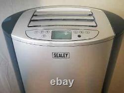 Sealey SAC12000 Air Conditioner/Dehumidifier/Heater 12,000Btu/hr AH 75374