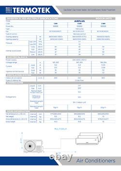 Termotek Airplus C12 12-dual-split Air Conditioner 12000 12000 Btu Inverter