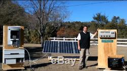 US Seller Kingtec 48VDC 18-24A Solar 16000 BTU MINI SPLIT Window AIR CONDITIONER