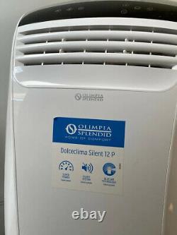 Used portable silent option-air conditioning unit 12000 btu (Olimpia-Splendid)