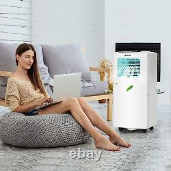 10000 Btu Climatiseur Portable 4 Modes Avec Affichage Led Et Télécommande 24h